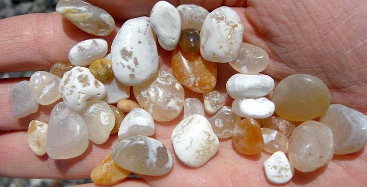 Agate Hunting on the beaches of California's North Coast