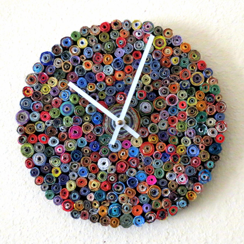 20 Stunning Unique Handmade Wall Clocks Pinterest Handmade