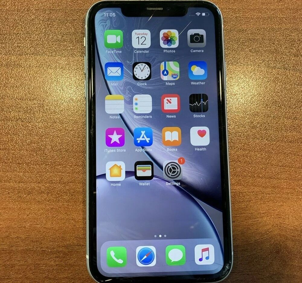 Apple iPhone XR 128GB White (Verizon) A1984 (CDMA