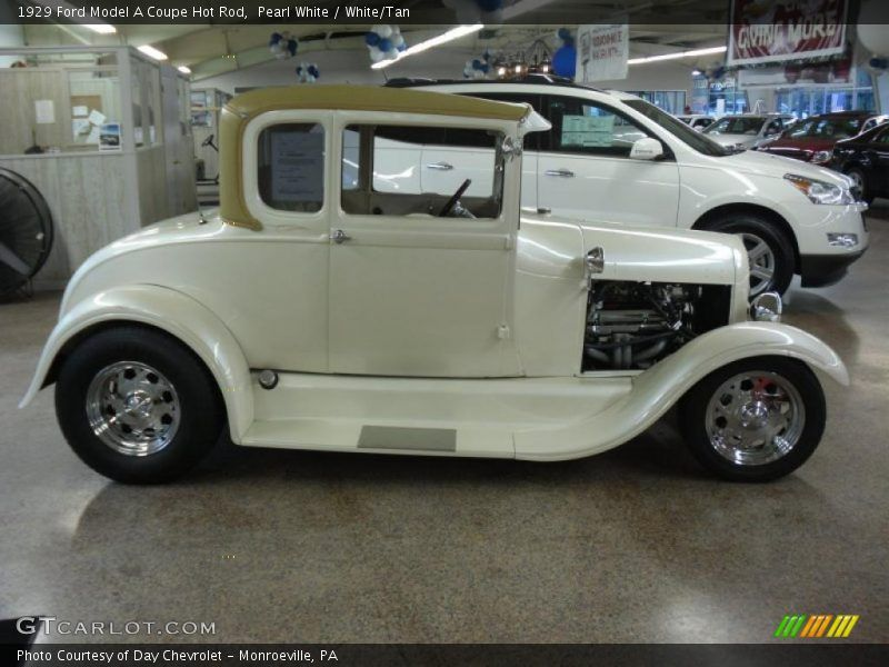 29 Street Rod Picture Galleries | 1929 Model A Coupe Hot Rod Pearl ...