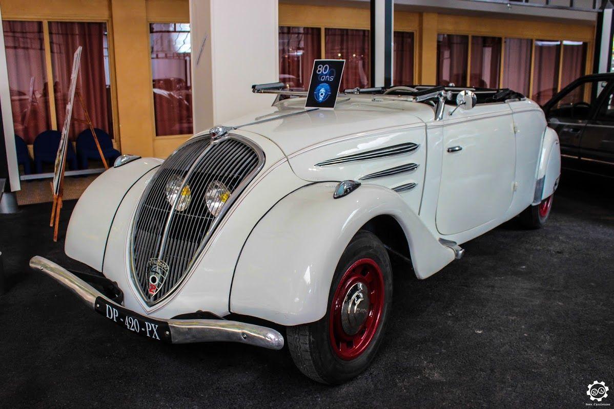 #Peugeot #402 #Roadster au Musée de l'Aventure #Peugeot  Reportage complet…
