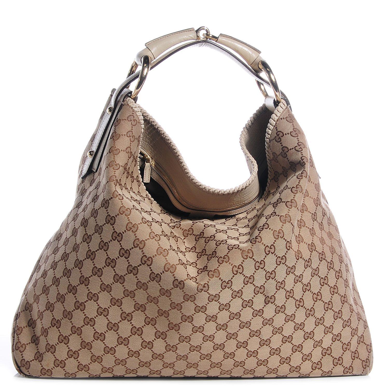 20ee70558e68fa Bolsa Gucci 100% Original Horsebit Gg Lona usada inf  beronica.rivera@gmail.com