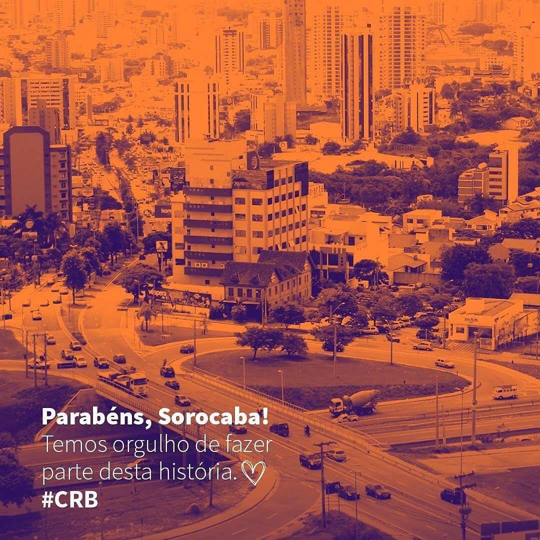 362 anos de muita história para contar! #Sorocaba #CRB