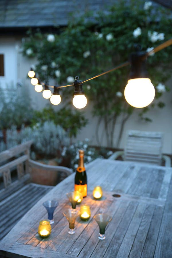 Outdoor Party Festoon Lights For The