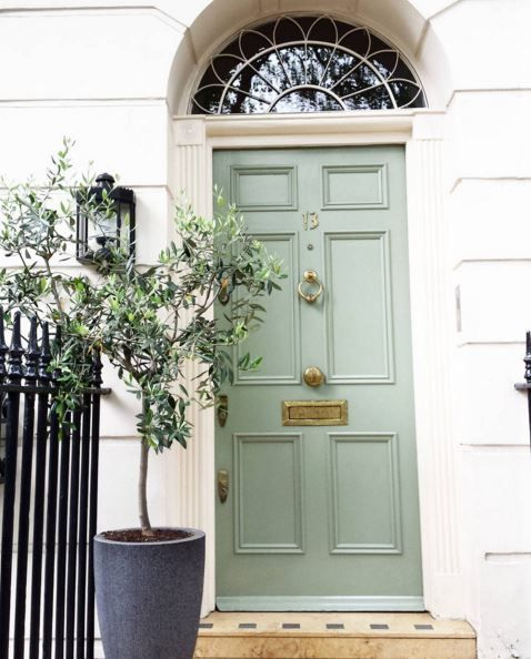 Beautiful door with brass Banham Locks (just hiding behind the tree) #brass  sc 1 st  Pinterest & Beautiful door with brass Banham Locks (just hiding behind the ... pezcame.com
