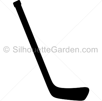Hockey Stick Silhouette Hockey Stick Silhouette Clip Art Hockey