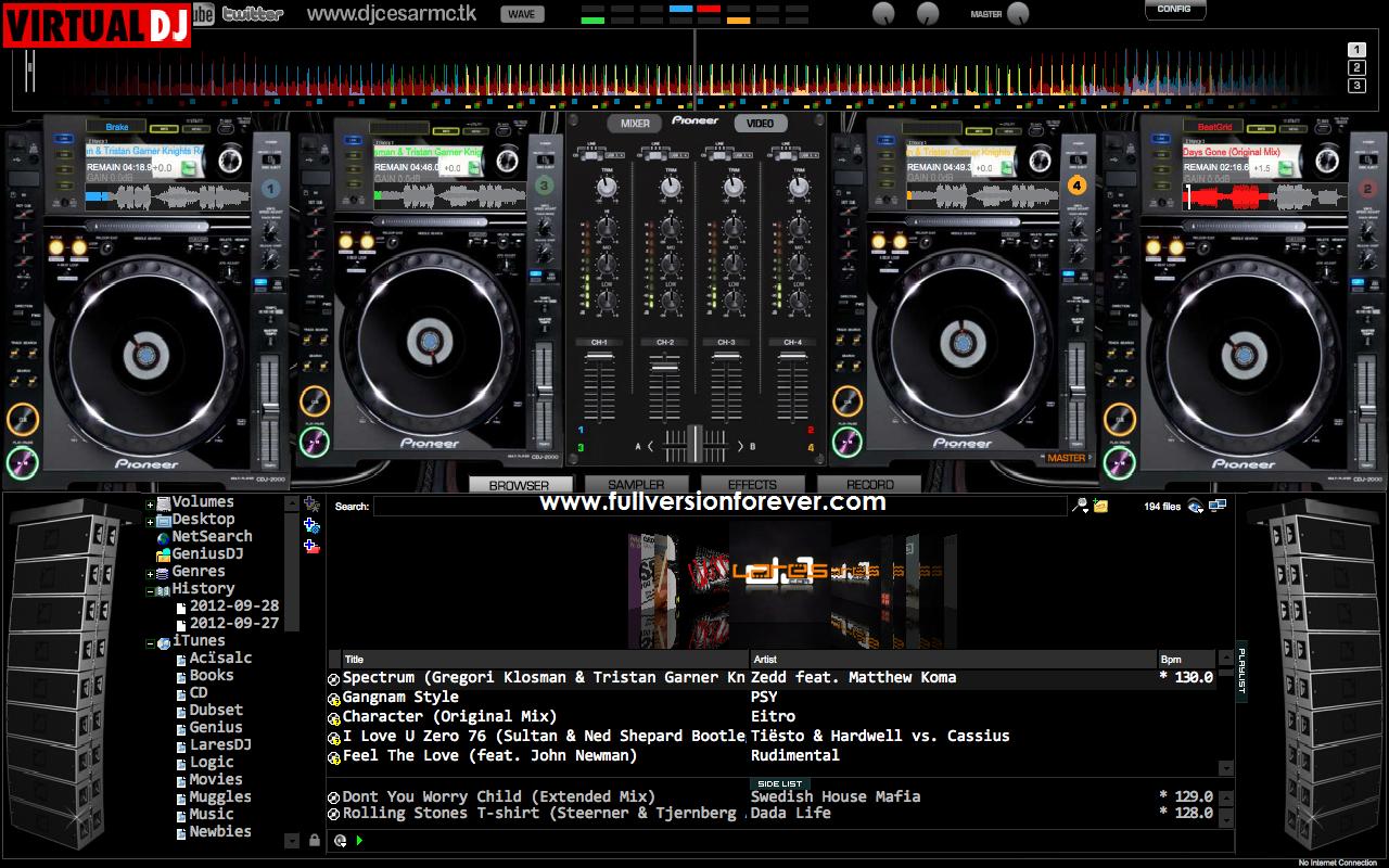 Virtual Dj Free Download Full Version 2012