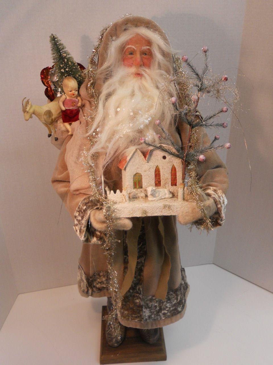 Victorian Santa by Lois Clarkson american-artists