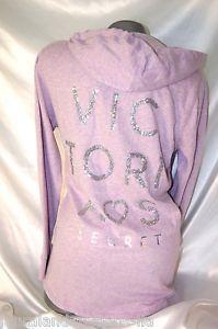 Large Victoria's Secret Sequin Angel Hoodie Supermodel Essentials Tunic NWT | eBay
