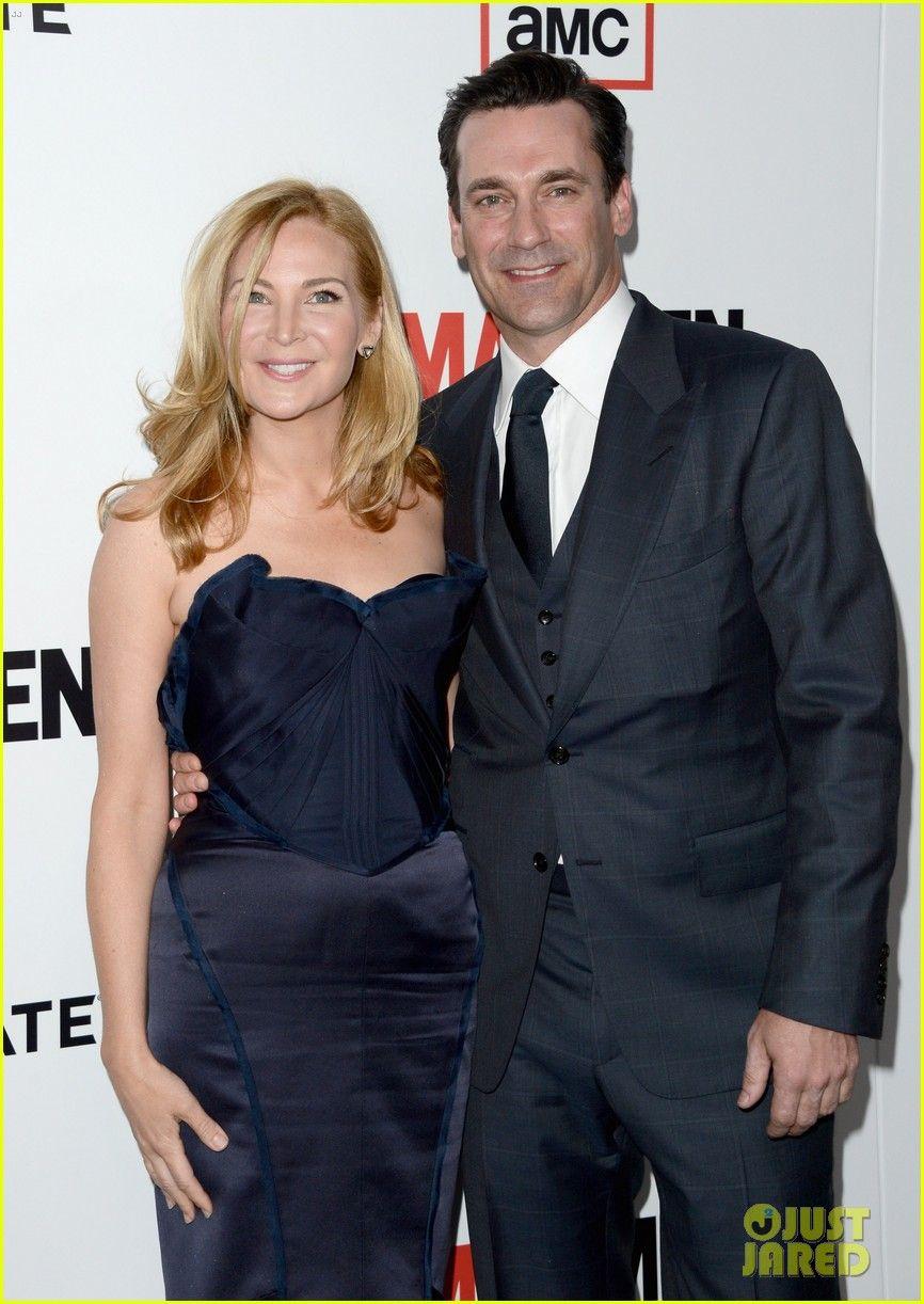 Celeb Diary: Jon Hamm & Jennifer Westfeldt la premiera sezonului 6 a serialului Mad Menin Los Angeles