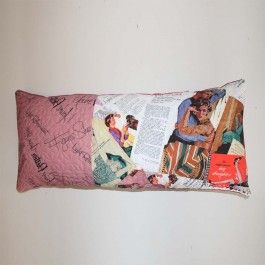 Cotton Long Match #Cushion from Chilek available on Wysada.com $36