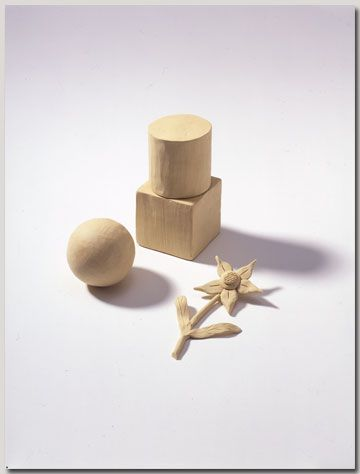 Froebel gift #20, clay for modeling. Norman Brosterman ...