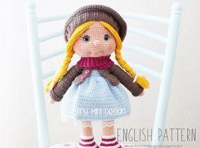 Amigurumi Doll Gratuit : Patrón amigurumi tonton muñeca libre amigurumi pinterest