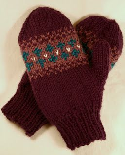 The Fuzzy Square: Mittens for Em
