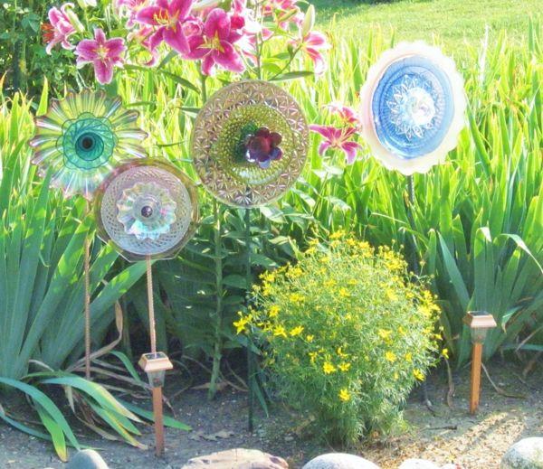 Gartendeko mit kindern basteln for Gartendeko selbstgemacht