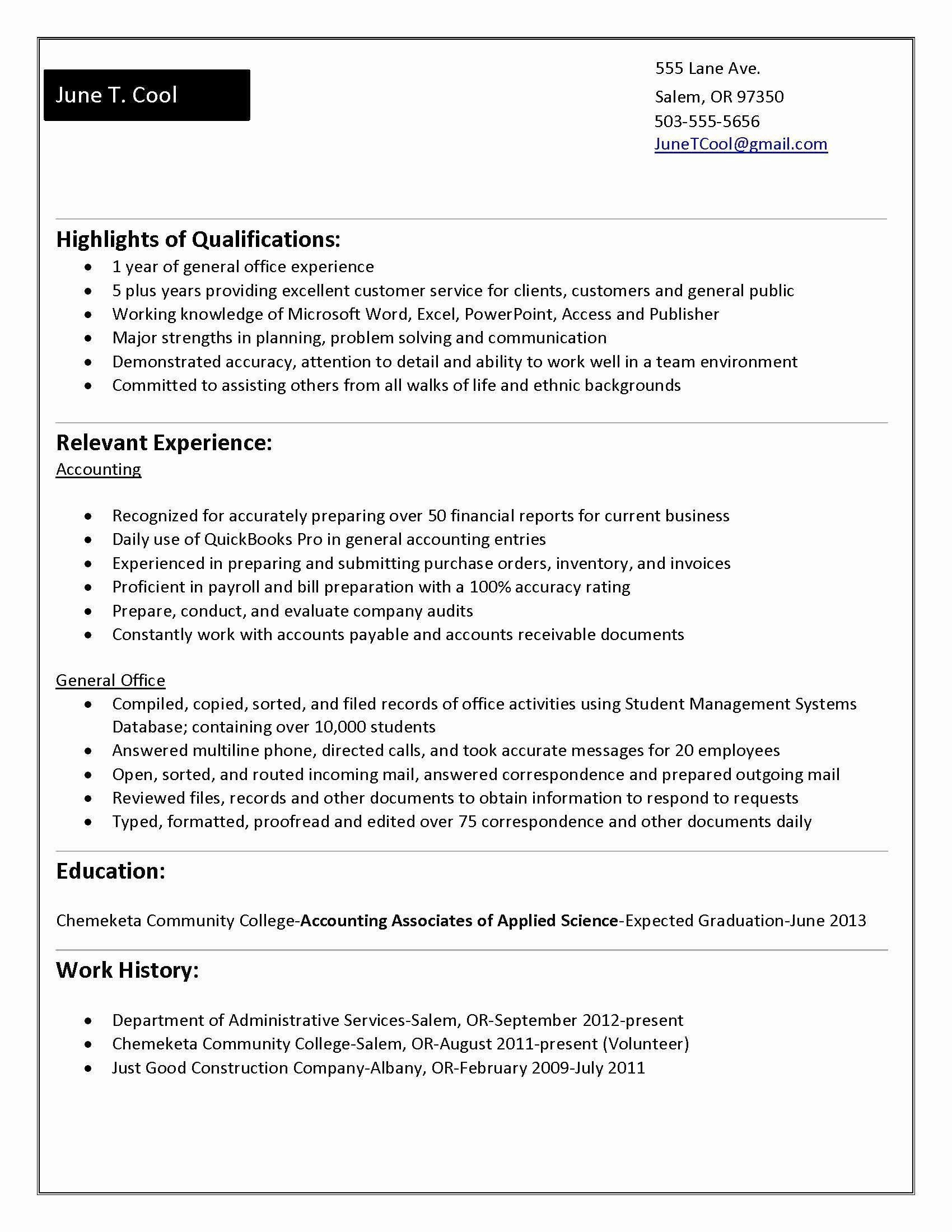 Resume For Accounting Internship With No Experience Printable Resume Template Student Resume Template Student Resume Internship Resume