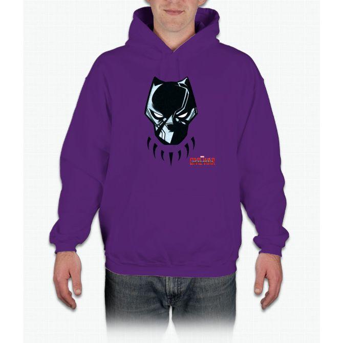 9761b0f6db0a4 Black Panther Mask Hoodie