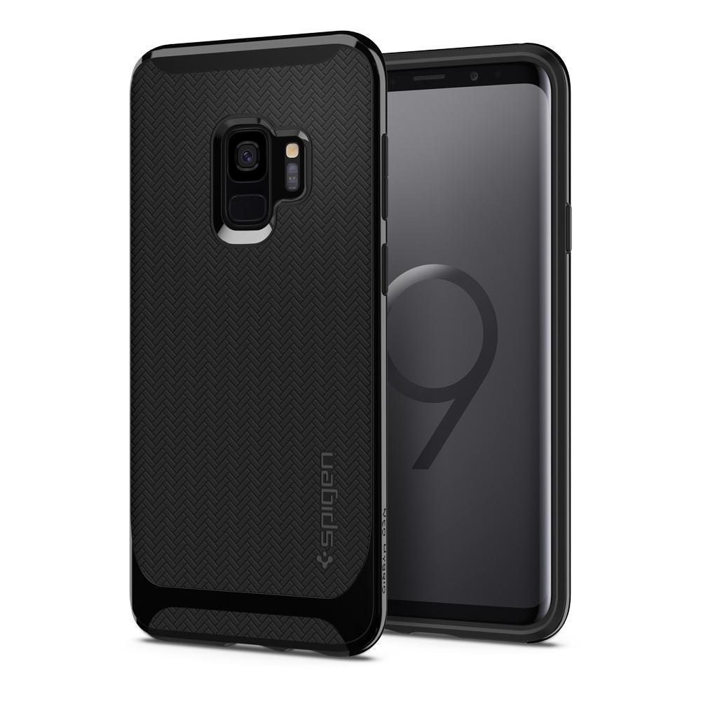 Spigen Neo Hybrid Galaxy S9 Case Shiny Black Pinterest Products Samsung S7 Edge Carbon
