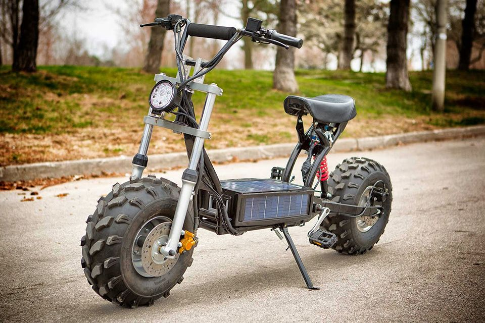 Homemade Off Road Vehicles The Beast Off Road Electric Scooter 1