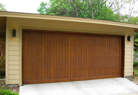 Wooden Garage Doors With Vertical Design Home Interiors Wooden Garage Doors Garage Door Styles Wood Garage Doors