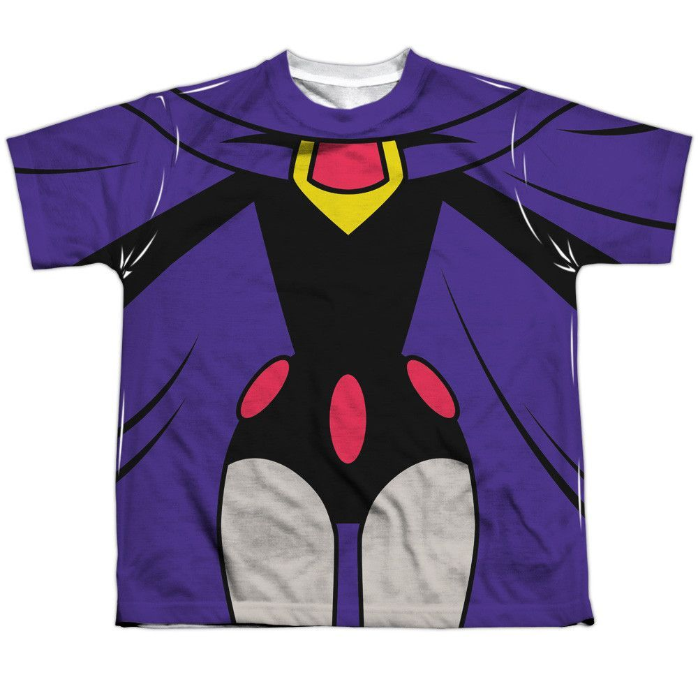 Behold The Teen Titans Go - Raven Uniform Sublimated -3145