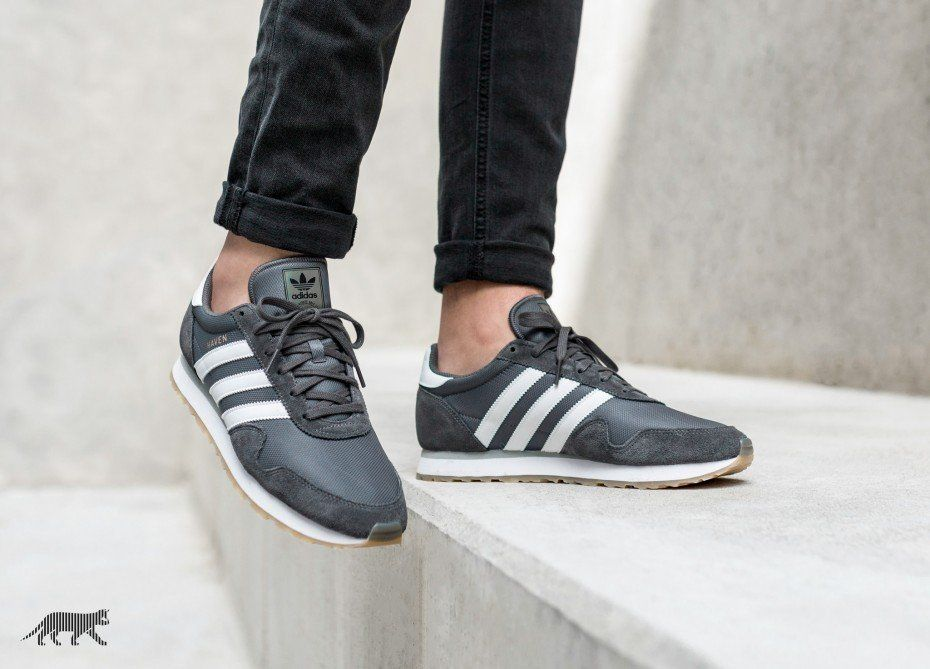 Buy GreyWhite Gum Adidas Haven Womens Shoes