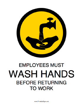 image relating to Wash Hands Sign Printable called Pin upon Designs for the Household