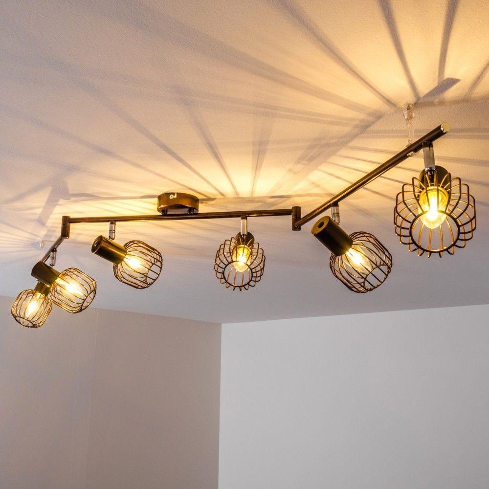 LED Design Wohn Schlaf Flur Zimmer Leuchten Küchen Lampen Decken schwenkbar