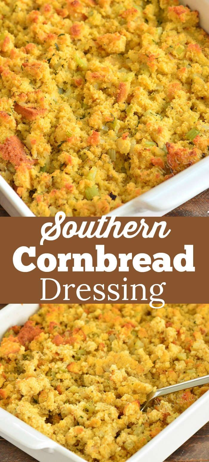 Cornbread Dressing -   19 stuffing recipes thanksgiving cornbread ideas
