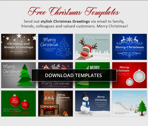 Download Free Christmas Powerpoint Templates From Presentationload