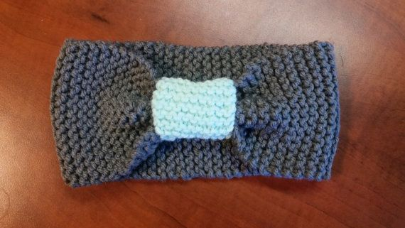 Knitted Headband by MissKnitCreations on Etsy