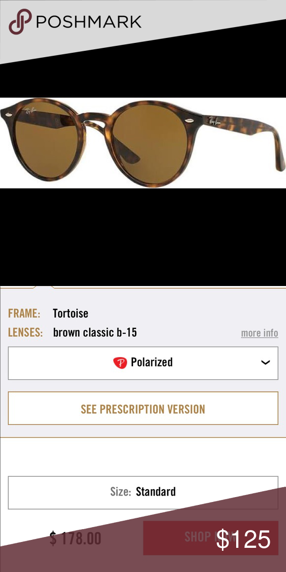 c7ae107a876 RB 2180 Polarized they were never worn. I ordered them online and they were  too small for my face. I have the original case  ) Ray-Ban Accessories ...