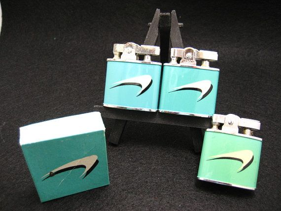 Vintage 3 Lighters 2  CMC Continental and 1  by TheMomentsInTime