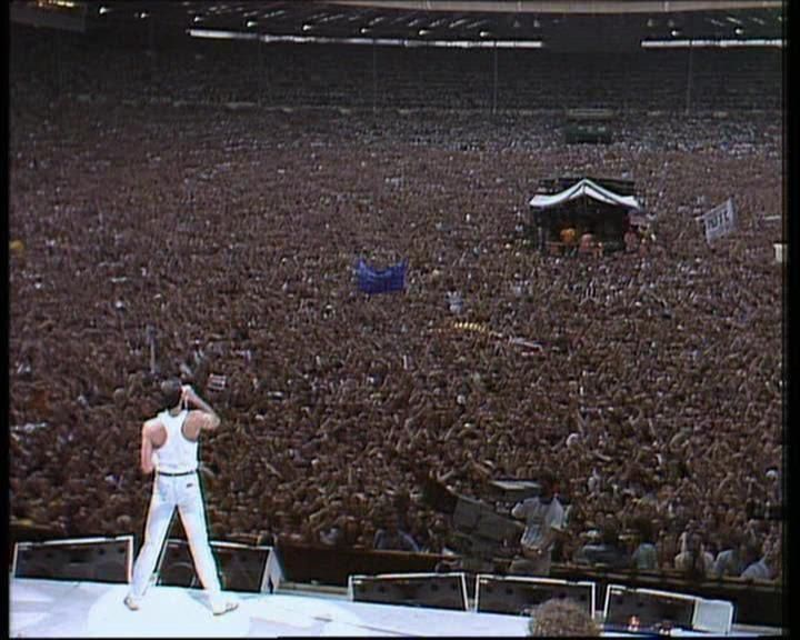 Queen, Live Aid - 1985. Unforgetable!