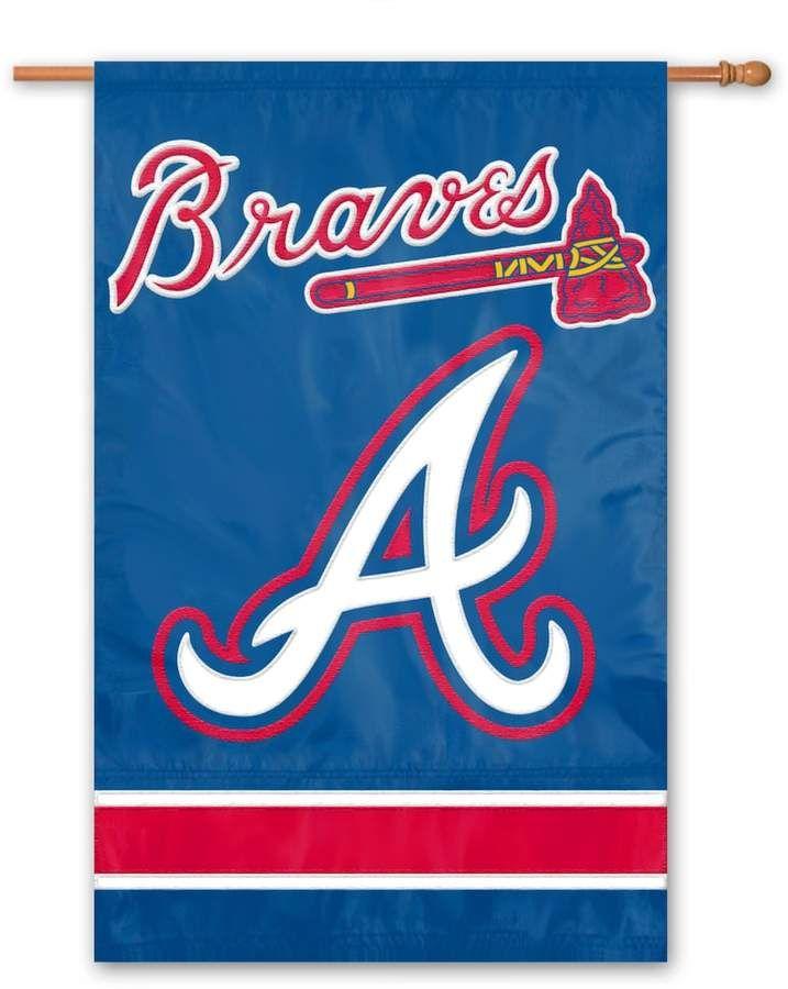 Atlanta Braves Banner Flag Atlanta Braves Braves Baseball