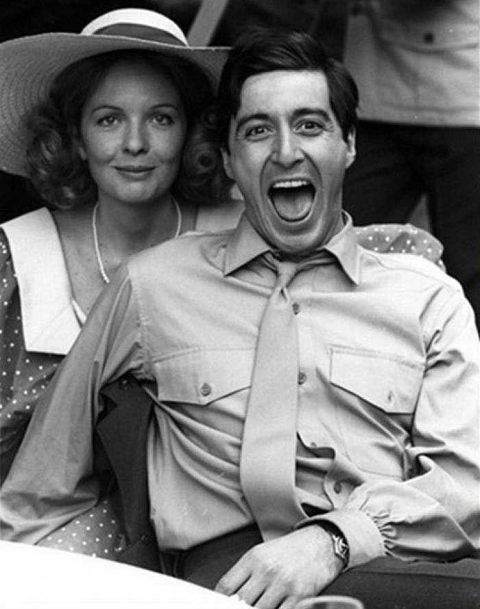 Al Pacino & Diane Keaton