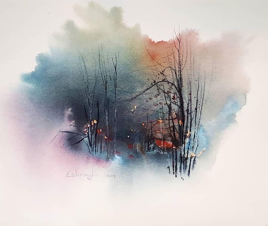 Watercolor By Morteza Portraits Follor Me Artizt For Mo