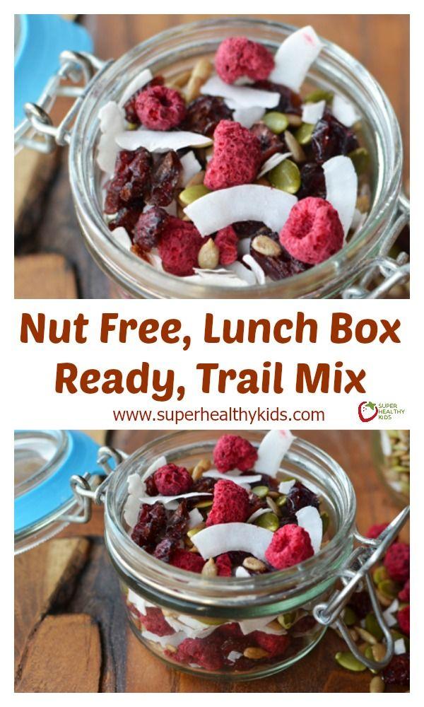 Nut Free, Lunch Box Ready, Trail Mix