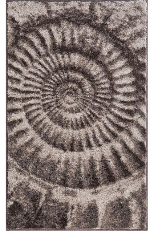 Delightful Der Ausgefallene Badteppich Ammona Mit Dem Design Einer Fossilen Schnecke  Ist Aus Weichen Polyacryl. Der Teppich Ist Bei 40°C Waschbar Und Für ...