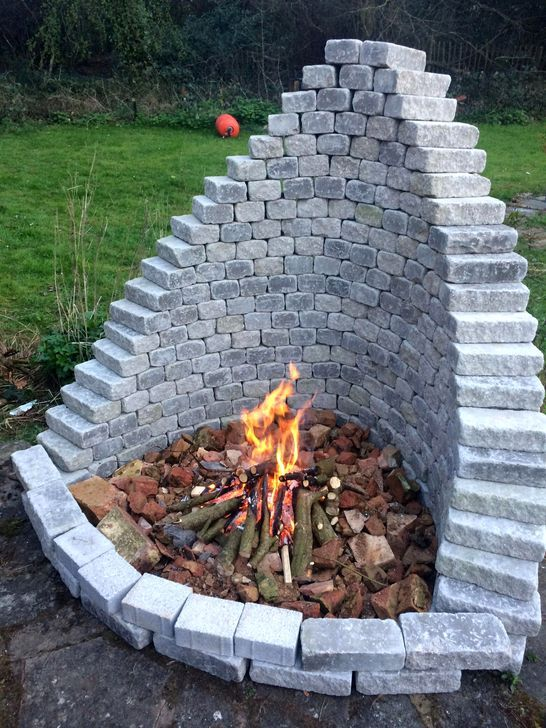 Photo of 49 Luxury Outdoor Fire Pits Design Ideas For Backyard To Have