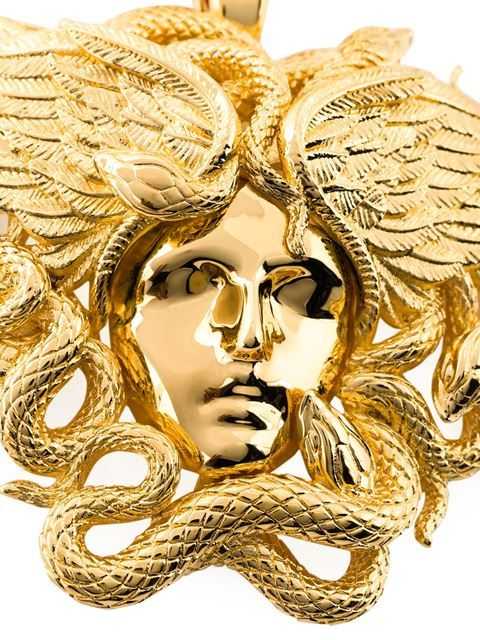 520cc8244e010 Versace Medusa necklace   Jóias   Joyas, Moda e Versace