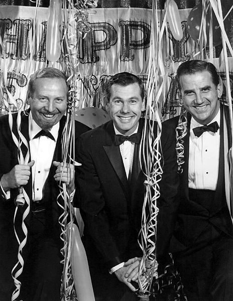 The Tonight Show Cast New Years Eve 1962 Publicity Photo Of The Cast Of The Television Program The Tonight Show As It Tonight Show Johnny Carson New Years Eve