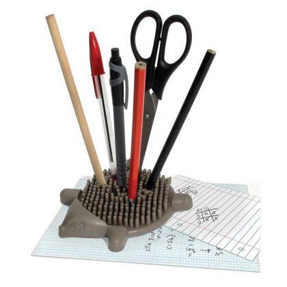 Hérisson Porte-Crayons : Achat Cadeau Bureau Astucieux sur Rapid-Cadeau.com