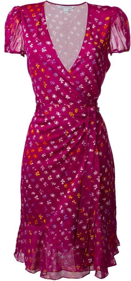 Diane von furstenberg \'Layton\' wrap dress | Klassiker Wickelkleid ...
