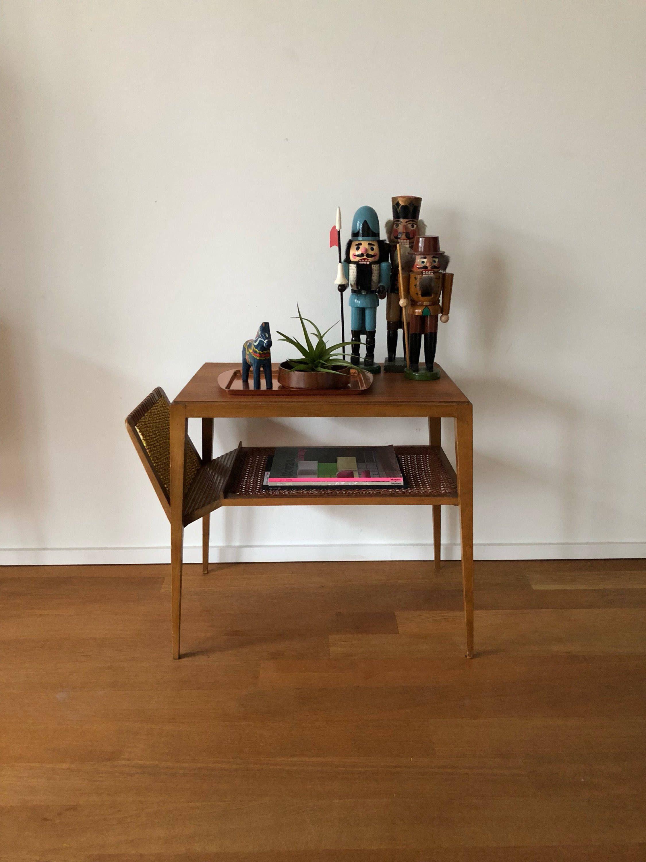 Mid Century 60er Jahre Tisch Beistelltisch Nachttisch ...