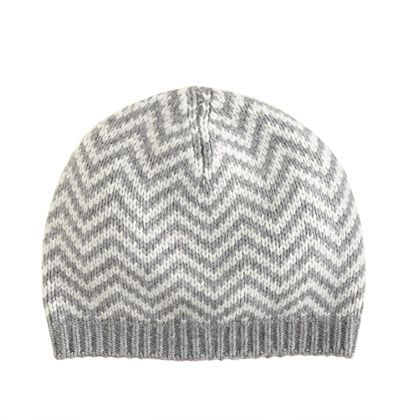 e3f3bd0fed6 Knitting Inspiration  Chevron hat by J.Crew. Viscose nylon lambswool rabbit  hair cashmere.