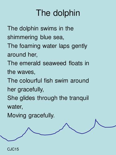 Create Sea Creature Poems Ks1 Or Ks2 End Of Term Pre K Songs