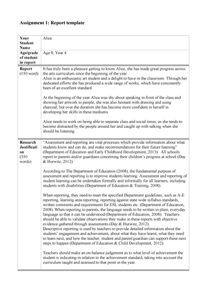 Assignment Report Template 2 Templates Example Templates Example Report Template Report Writing Format Templates