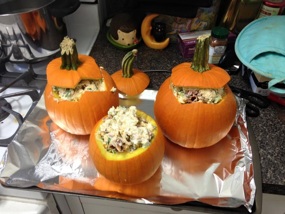 We celebrated Mabon late this year. I stumbled across a recipe for stuffed pumpkins that was an absolute hit. This would also be a great Samhain recipe. Pumpkin Stuffed With Everything Good Ingredi...