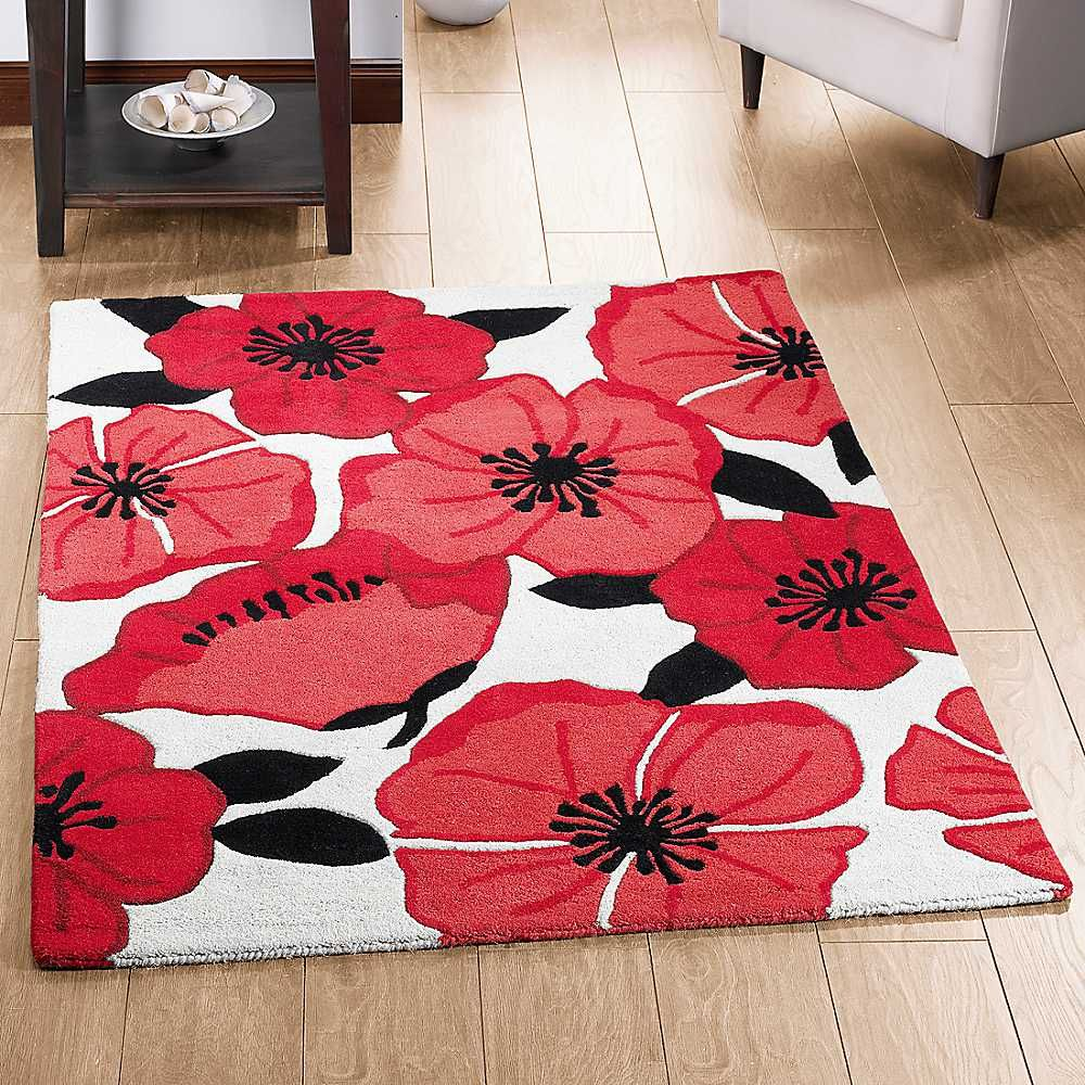 Poppy Red Rugs Are Both Cosmetic And Practical You Need To Aim Get The Best Of Worlds When Using Carpets In Your Ow